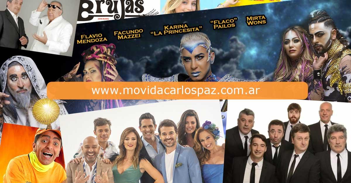 Obras Teatro Carlos Paz 2019