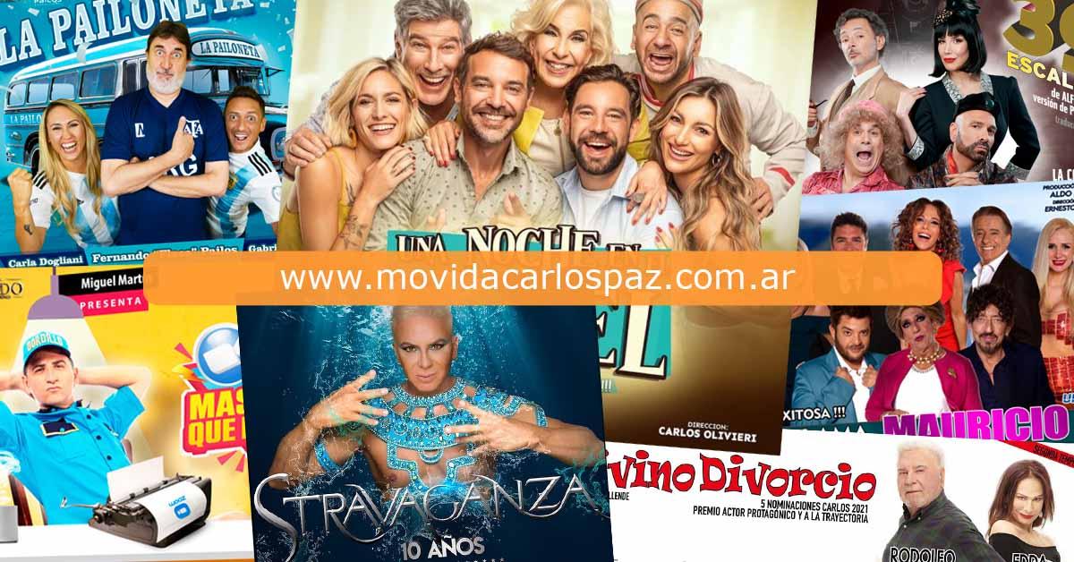 Obras Teatro Carlos Paz 2022