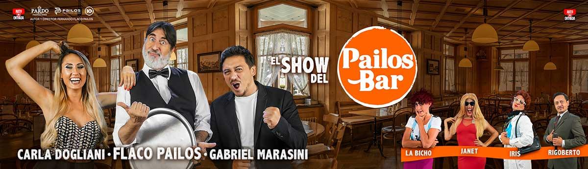 Obra de Teatro El Show del Pailos Bar Villa Carlos Paz