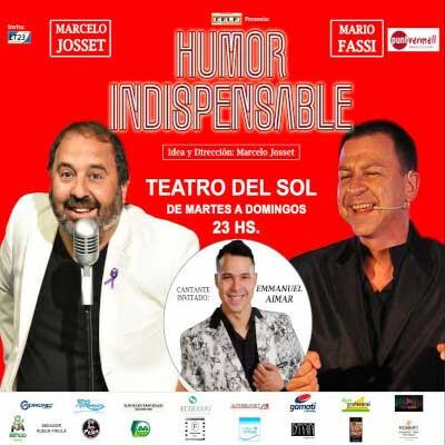 Obra de Teatro Humor Indispensable Villa Carlos Paz
