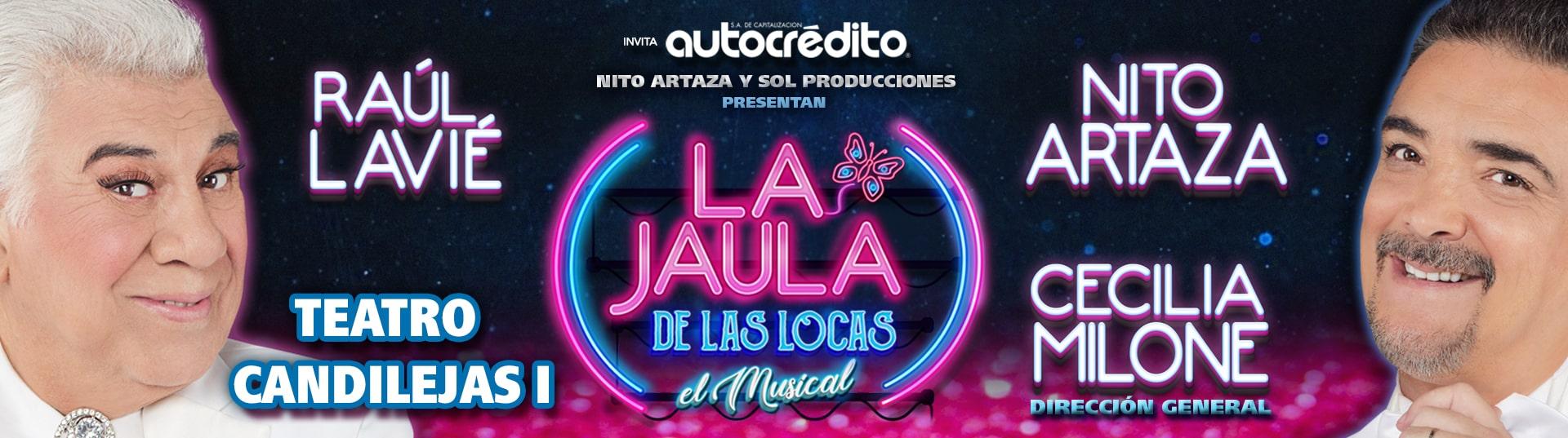 Obra de Teatro La Jaula de las Locas Villa Carlos Paz