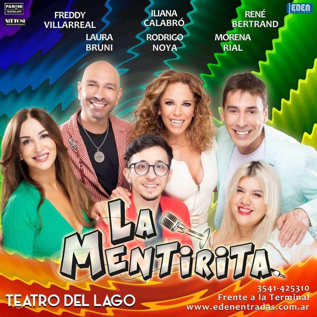 Obra de Teatro La Mentirita en Carlos Paz