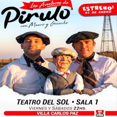 Obra de Teatro Las Aventuras de Pirulo Villa Carlos Paz