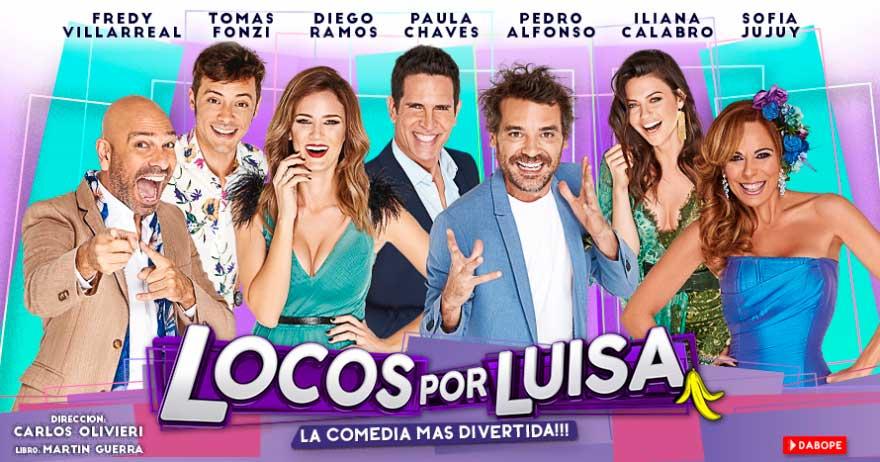 Obra de Teatro Locos Por Luisa en Carlos Paz