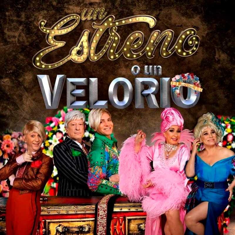 Obra de Teatro Un Estreno o Un Velorio Villa Carlos Paz