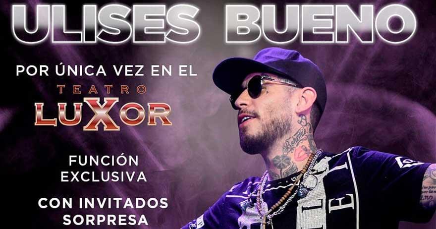 Show Ulises Bueno Villa Carlos Paz